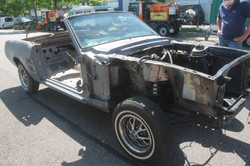 Mustang fertig entlackt