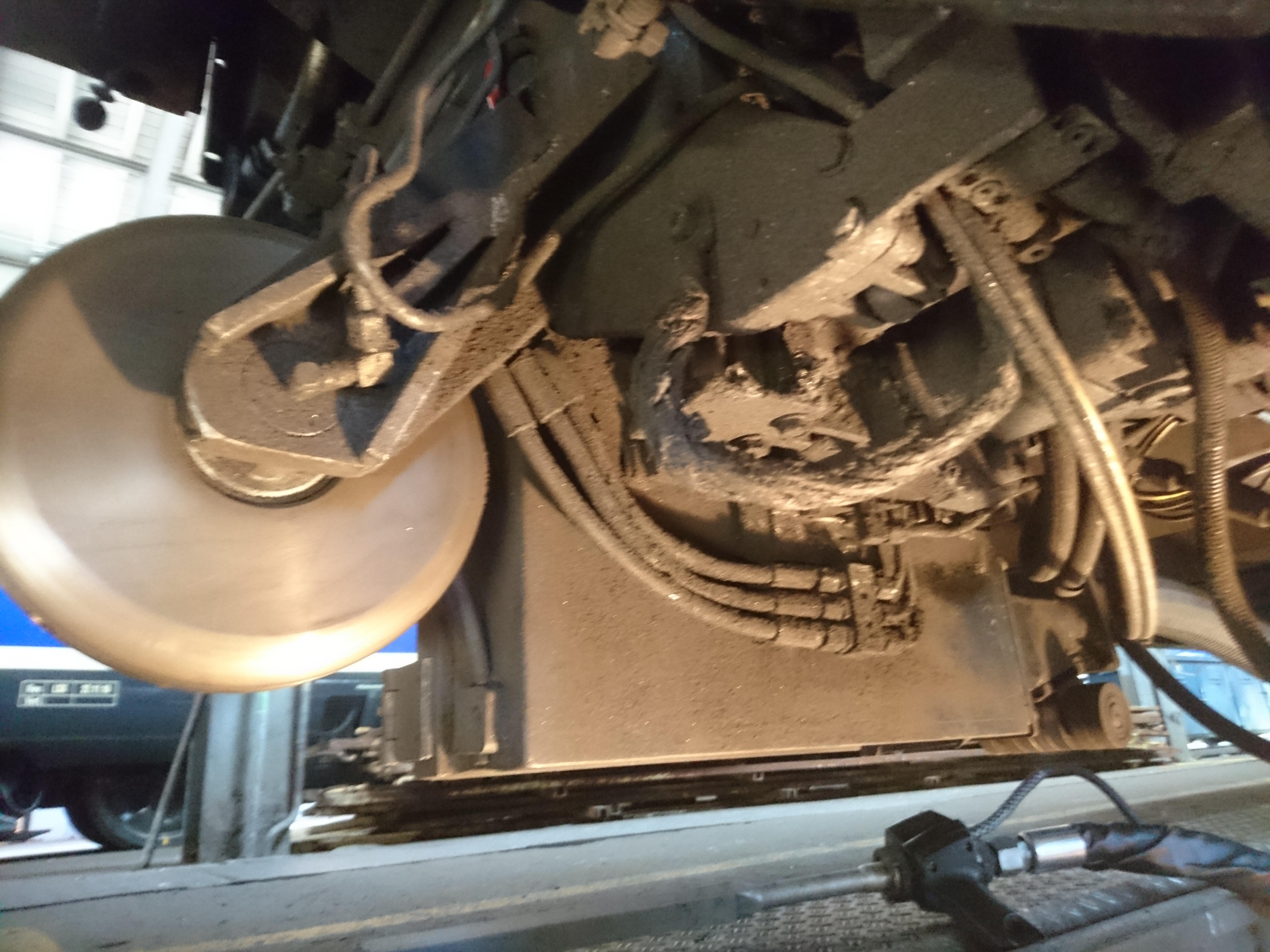 Mechanik verschmutzt