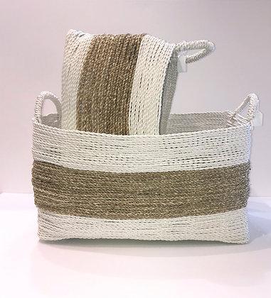 Rectangular Sea Grass Basket