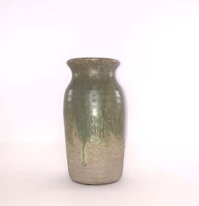 Green Ombre Vase