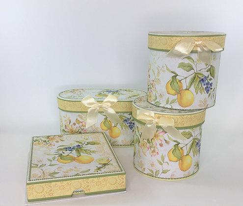 Lemon Coffee Time Box Sets