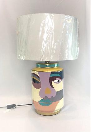 Pastel Face Lamp