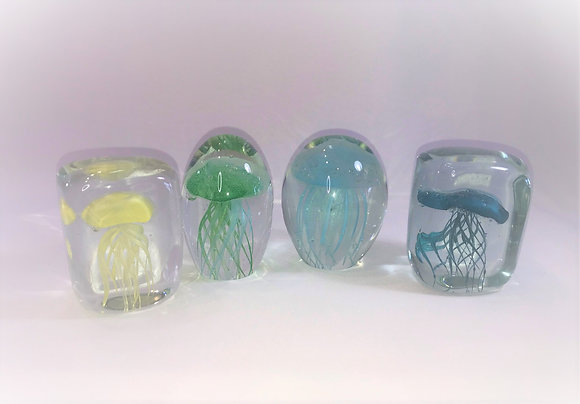 Jelly Fish Paper Weights