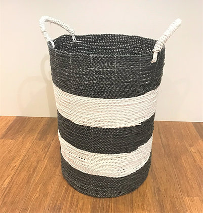 Black & White storage basket