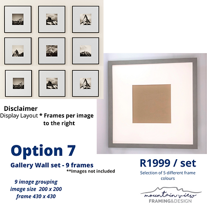 Gallery Wall Set - Option 7