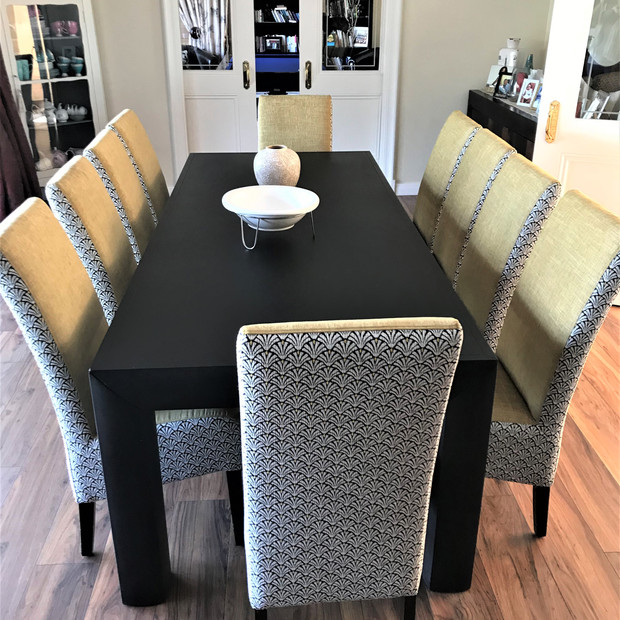 Re Upholstery of dining room chairs