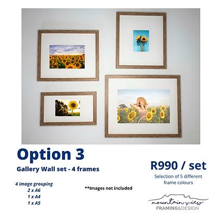 Gallery Wall Set - Option 3