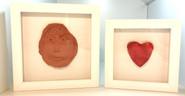 Children clay art
