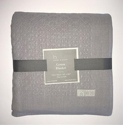 Cotton Blanket Grey