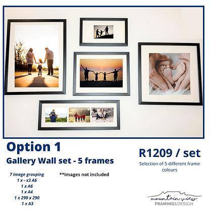 Gallery Wall Set - Option 1