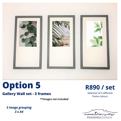 Gallery Wall Set - Option 5