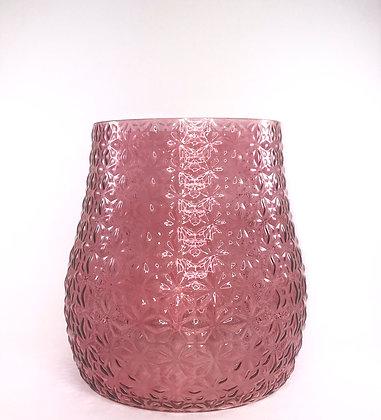 Pink Large Glass Vase