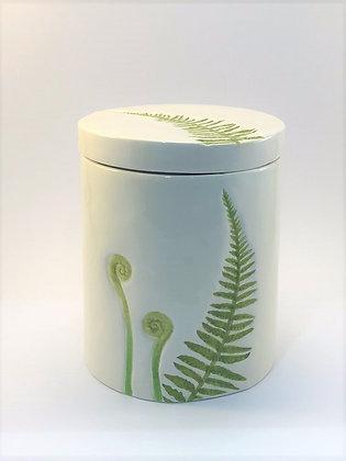Fern Jar with lid