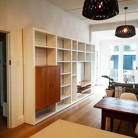 Recently installed _apartmento_nz Interva shelving system #shelving #design #storage #cabinetmaking