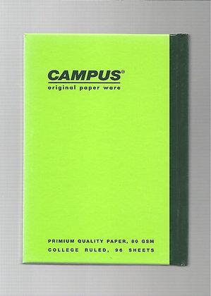 פנקס קמפוס מיני 10*7.1 - מגוון צבעים