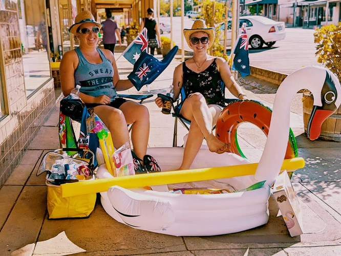 Australia Day and summer fun jan 2019