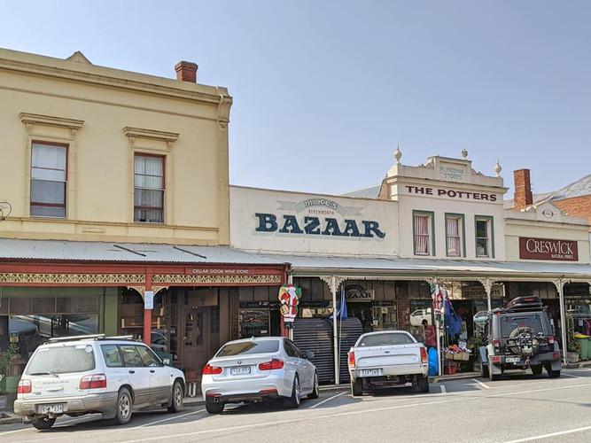 Outside the shop Jan 2020