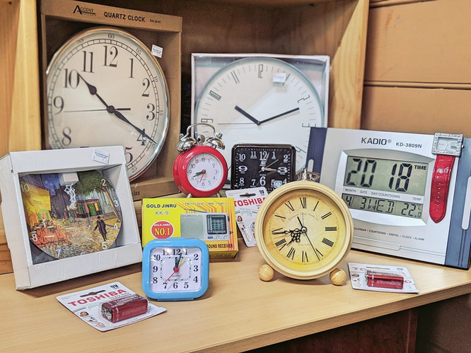 Clocks Apr 2019