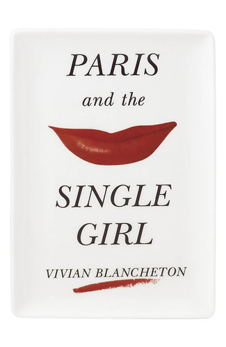 kate spade new york Paris and the Single Girl Vivian Blancheton Porcelain Dish
