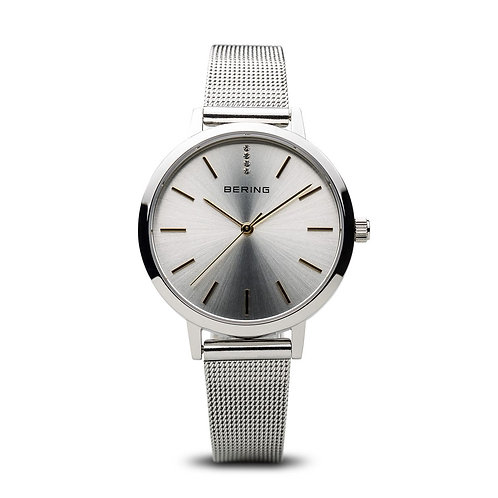 BERING Time 13434-001 Women Classic Collection Watch with Stainless-Steel Strap