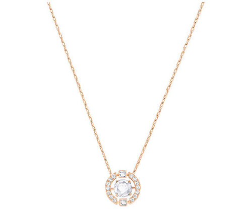 2e7d76ef6 Swarovski Sparkling Dance Round Necklace, White