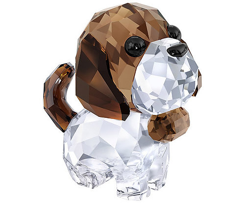 Swarovski Puppy Bernie the Saint Bernard