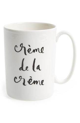 """kate spade new york Daisy Place """"crème de la crème"""" Mug by Lenox"""