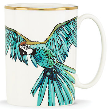 kate spade new york Zoo Drive Mug, Parrot