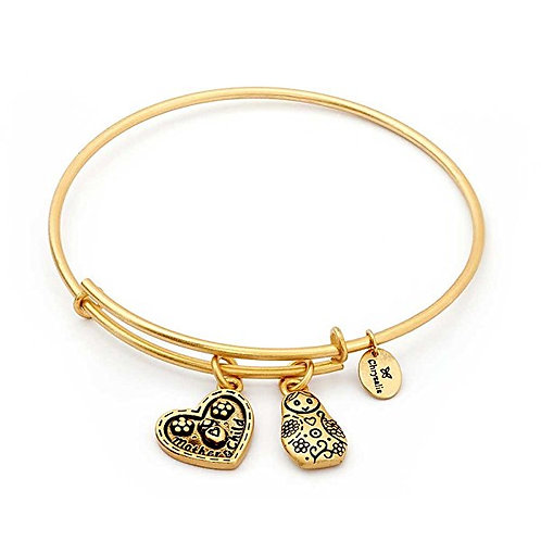 Chrysalis Friend & Family Mother & Child Mother's Love Expandable Bangle