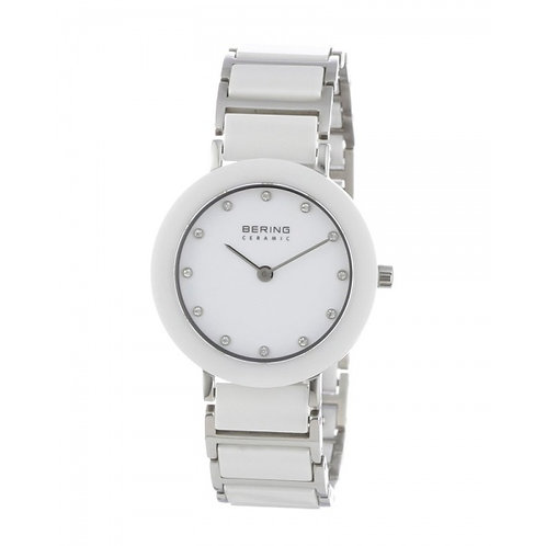 BERING Time 11435-754 Womens Ceramic Collection Watch with Stainless steel Band