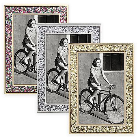 """kate spade new york Simply Sparkling™ 5"""" x 7"""" Photo Frame by Lenox"""