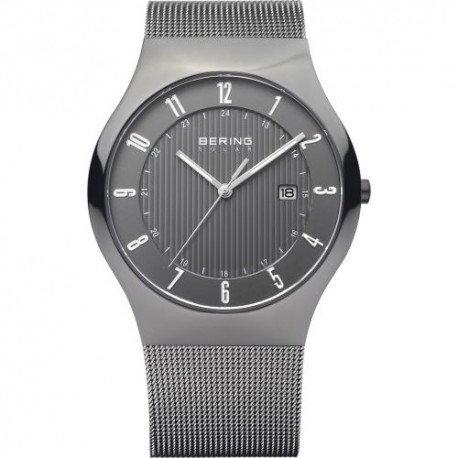 BERING Time Milanese Grey Solar Watch 14640-077