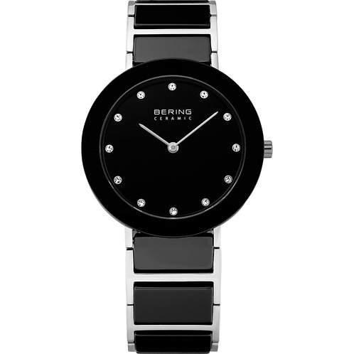 BERING Time 11435-749 Womens Ceramic Collection Watch with Stainless steel Band