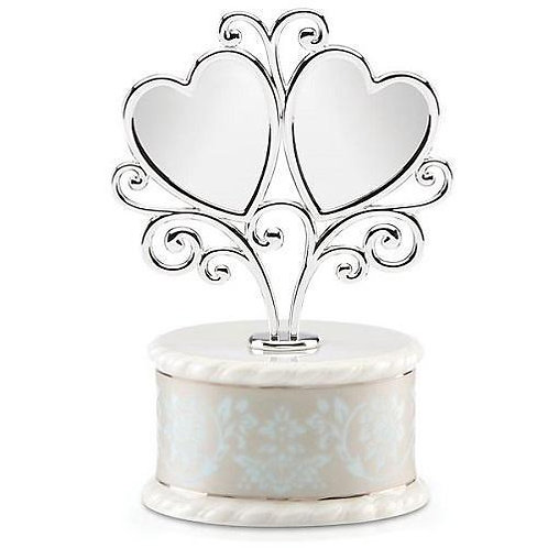 Lenox Westmore Heart Cake Topper 871659