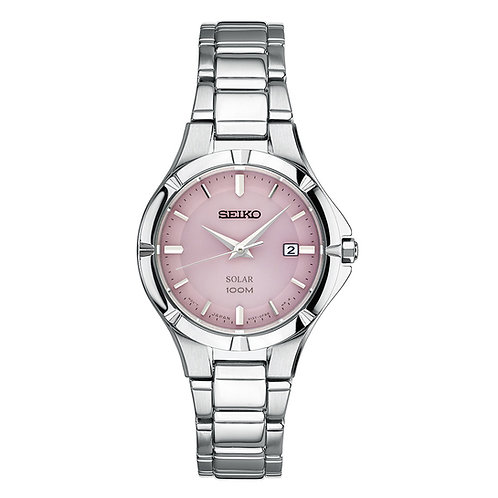 Seiko Women's Quartz Stainless Steel Automatic Watch Silver-Toned SUT315