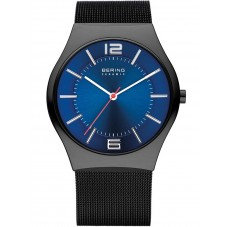 Bering Analogue Blue Dial Men's Watch -32039-447