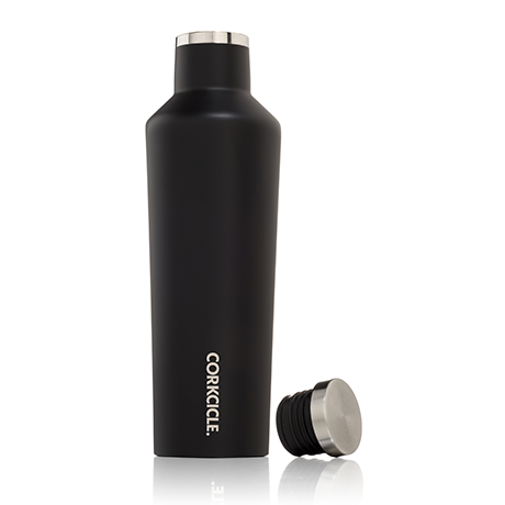 CORKCICLE. Canteen Matte Black Winnebago Edition Insulated Wine Canteen - 25 Oz.