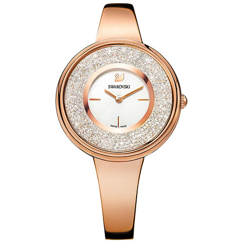 Swarovski Crystalline Pure Watch, Metal, Rose Gold Tone