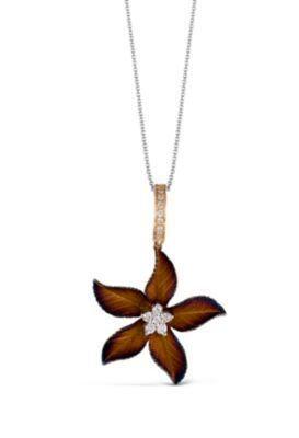 Simon G. Organic Allure Flower Shaped Pendant