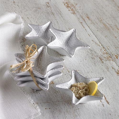 Mud Pie Starfish Mini Dip Cup Set