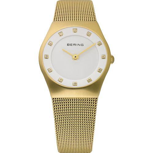 BERING Time 11927-334 Womens Classic Collection Watch with Mesh Band and scratch