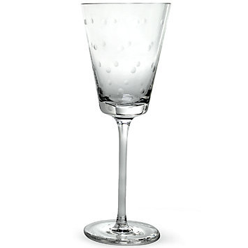 kate spade new york 'larabeedot' Crystal Wine Glass 7.5oz