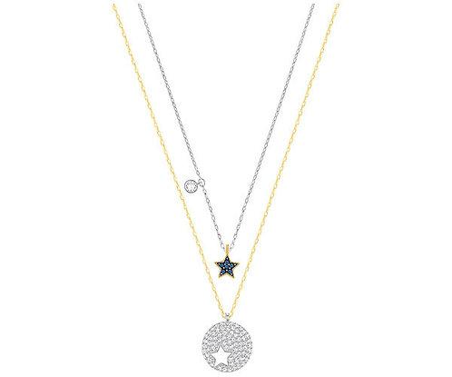 Swarovski Crystal Wishes Star Pendant Set, Blue