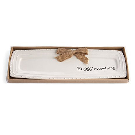 Mud Pie Circa Happy Everything Tray