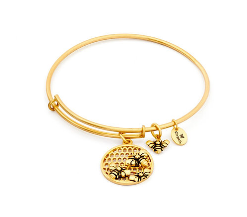 Chrysalis Bee Expandable Bangle