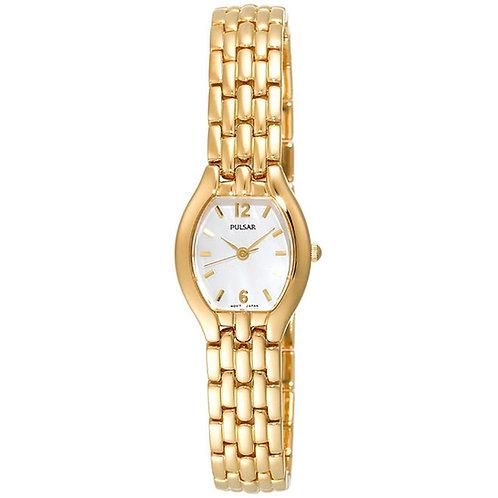 Pulsar Ladies Yellow Bracelet Watch