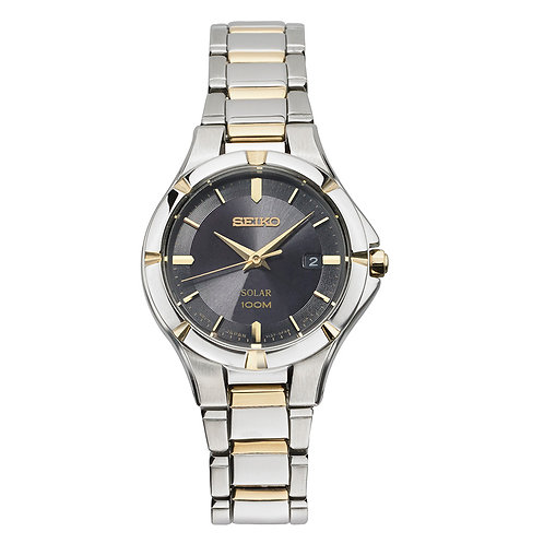 Seiko Women's Quartz Stainless Steel Casual Watch, Two Tone SUT316