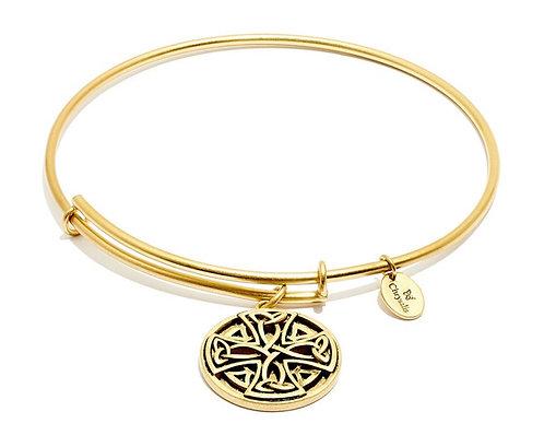 Chrysalis Talisman Celtic Cross Expandable Bangle