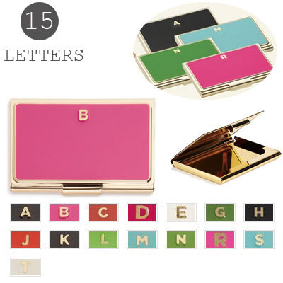 kate spade new york 'one in a million' Initial Business Card Holder