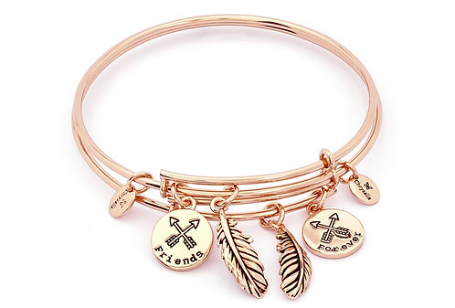 Chrysalis Forever Friends Expandable Bangle Set